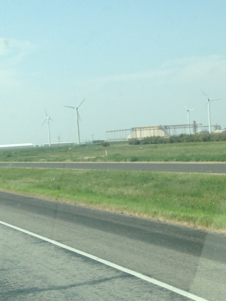 Near Sweetwater, Texas
