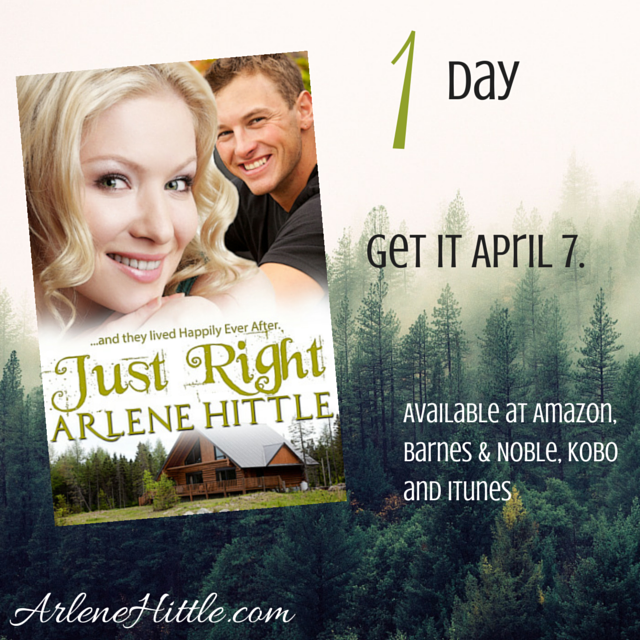 Just Right | Arlene Hittle #romance #tmpress-2